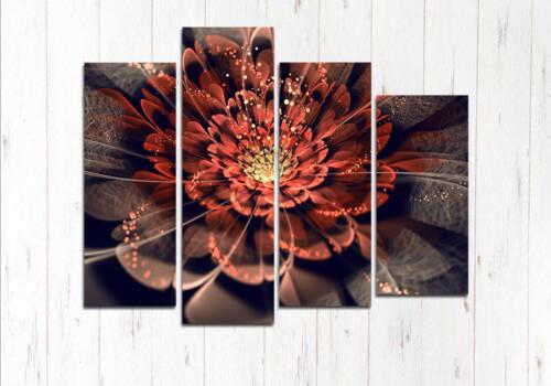 Модульная картина Прекрасный цветок