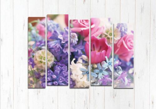 Модульная картина Цветики