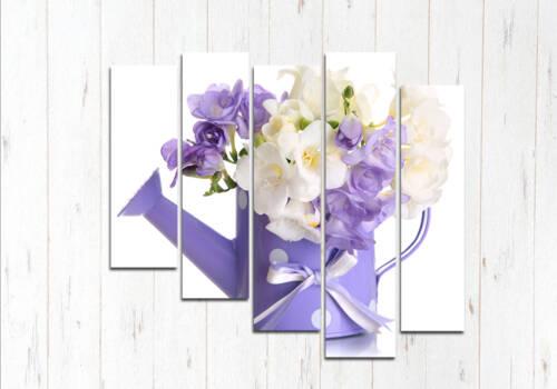 Модульная картина Лейка цветов