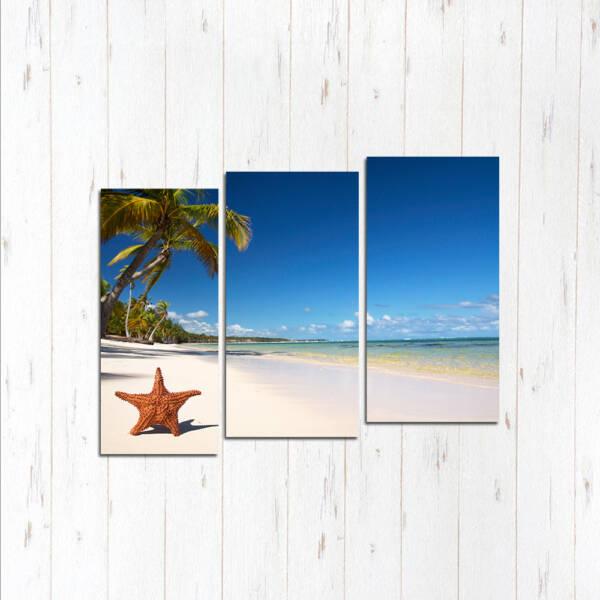 Модульная картина Песчаный пляж