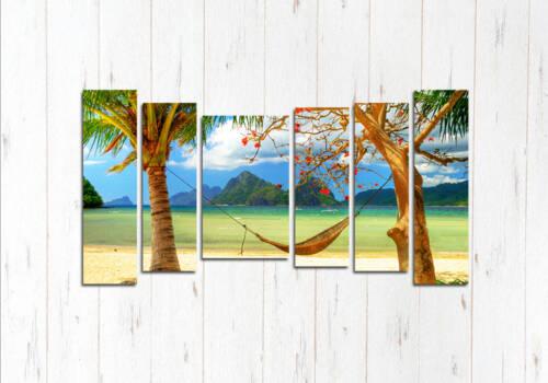 Модульная картина Райский отдых