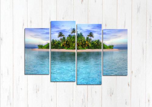 Модульная картина Остров