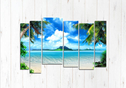 Модульная картина Райское окно