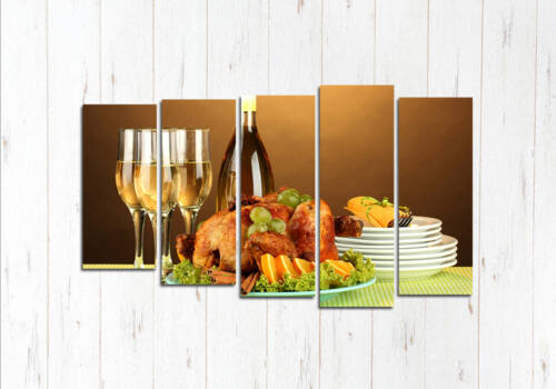 Модульная картина Вечерний ужин