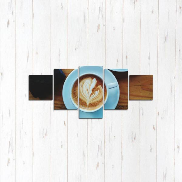 Модульная картина Нежный кофе