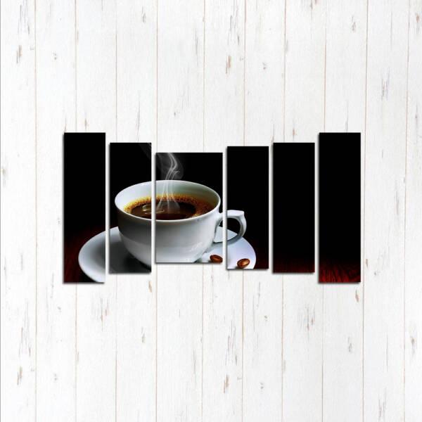Модульная картина Чёрный кофе