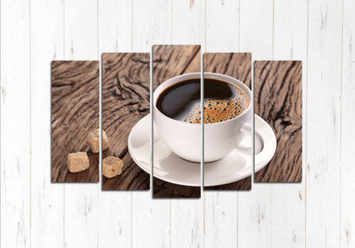 Модульная картина Кофе