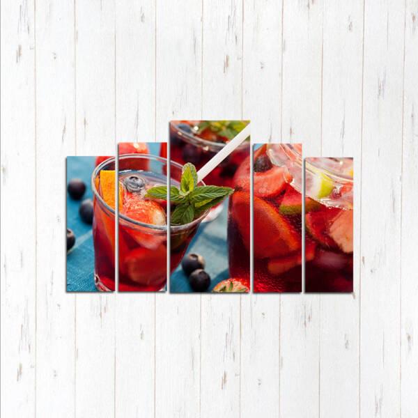 Модульная картина Сладкий напиток