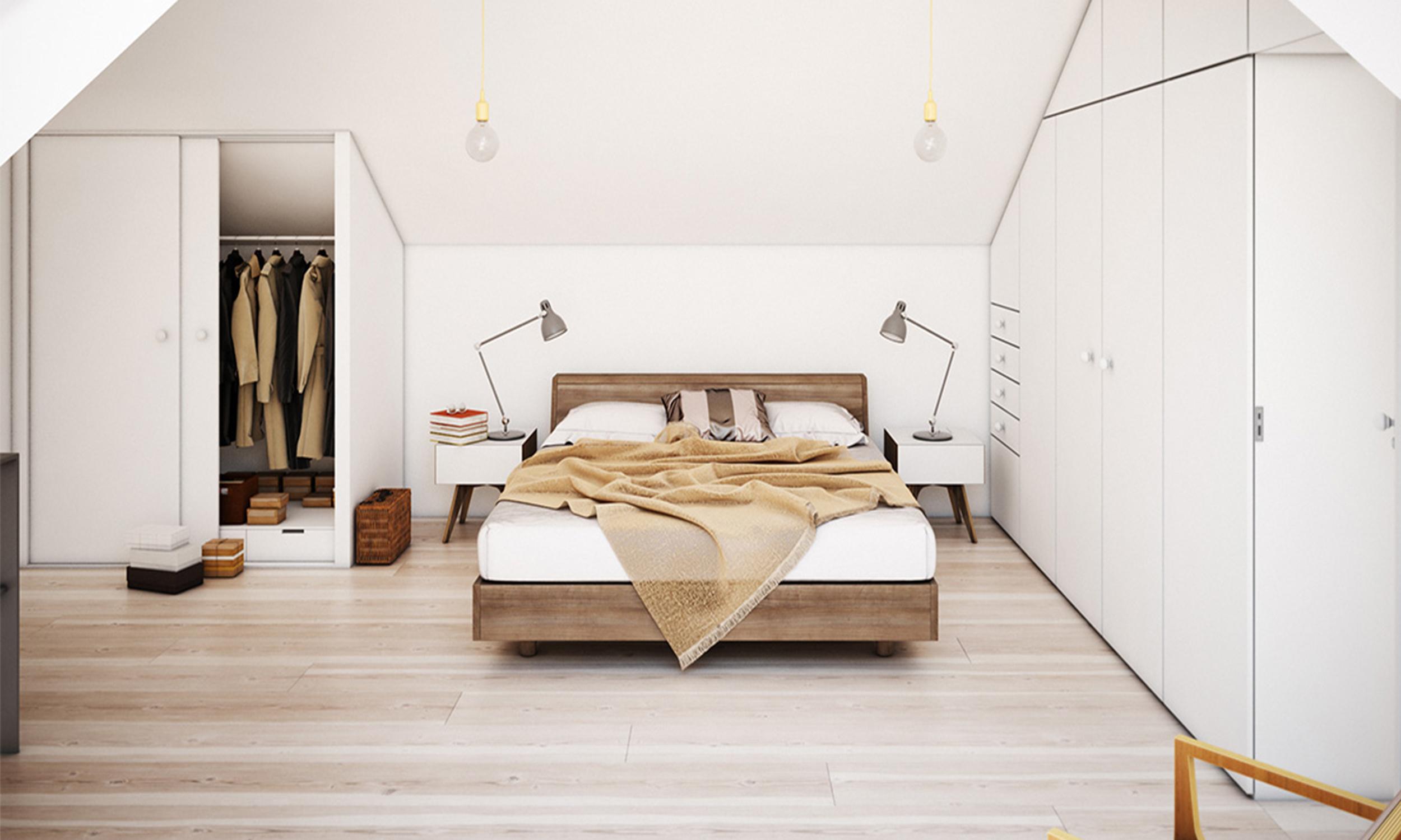 bedroom attics - HD1542×1080