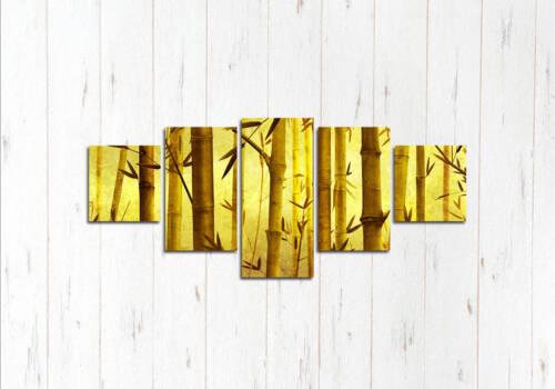 Модульная картина В бамбуке