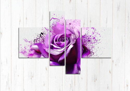Роза фиолет