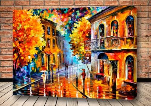 Картина Осенняя улица