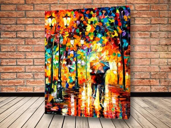 Картина Под одним зонтом