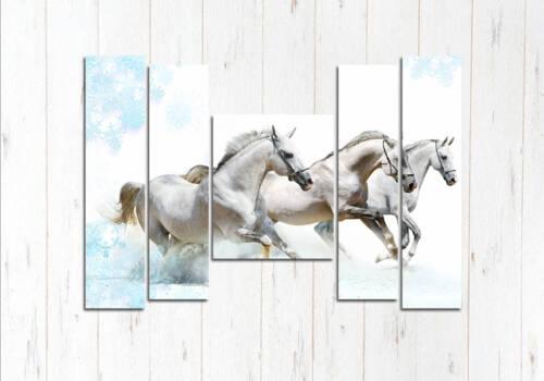 Модульная картина Великолепные кони