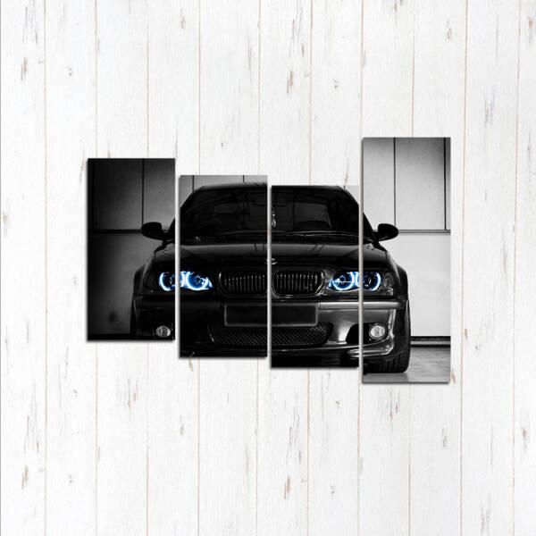 Модульная картина BMW лучший стиль