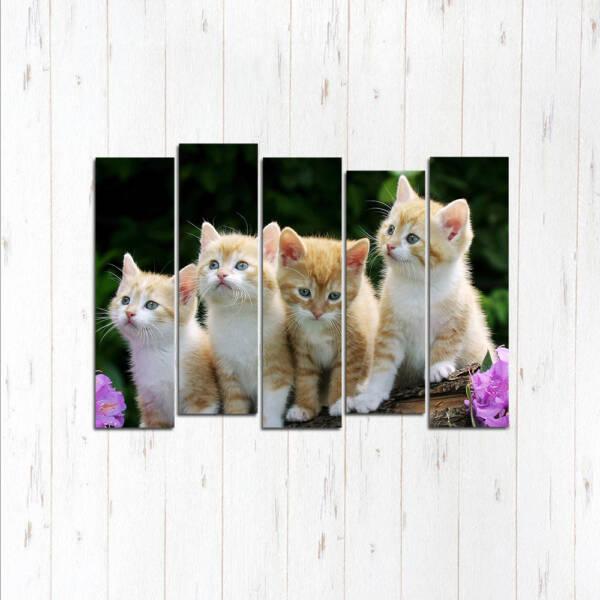 Модульная картина Четверо малышей