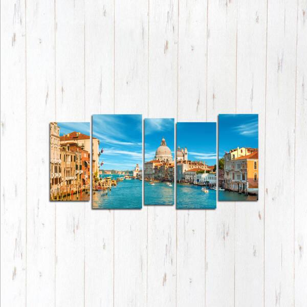 Модульная картина Прекрасная Венеция