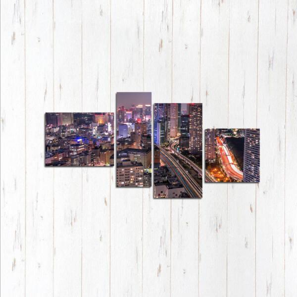 Модульная картина Гонконг