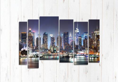 Модульная картина Загадочный Чикаго
