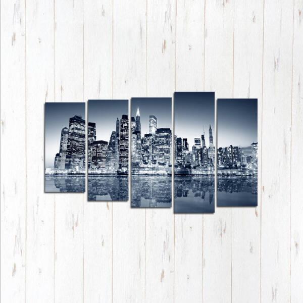 Модульная картина Белый город