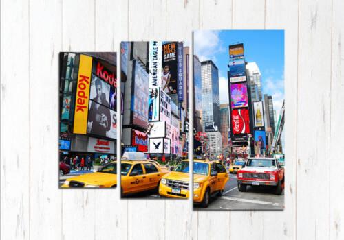 Модульная картина В ритме Нью-Йорк