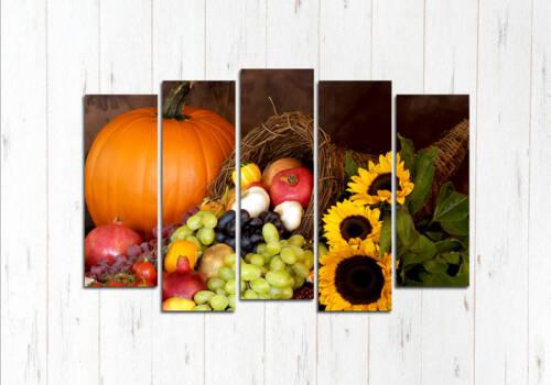 Модульная картина Осень на столе