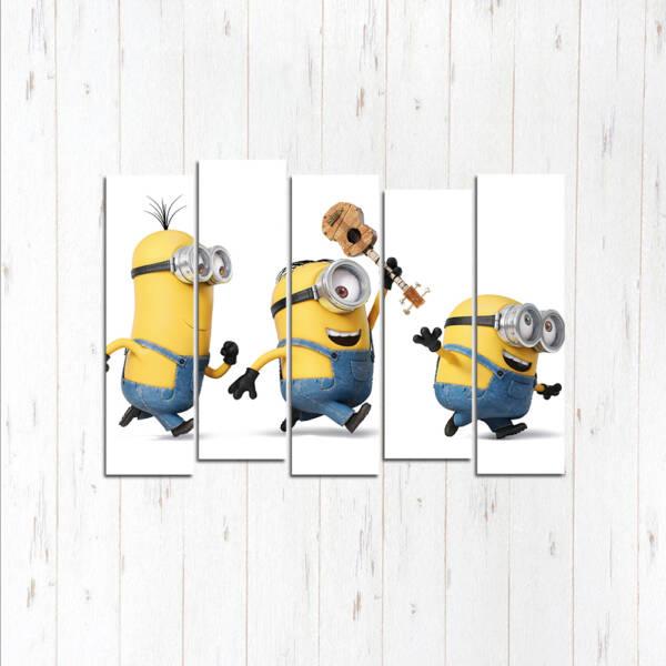 Модульная картина Три музыканта