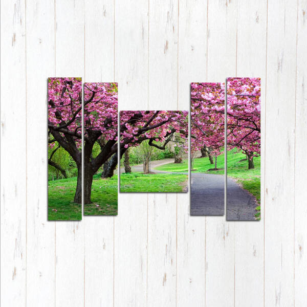 Модульная картина Сад цветов