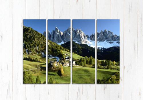 Модульная картина Альпийские будни
