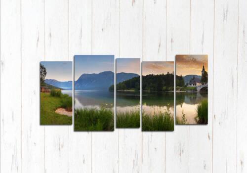 Модульная картина Швейцарское утро
