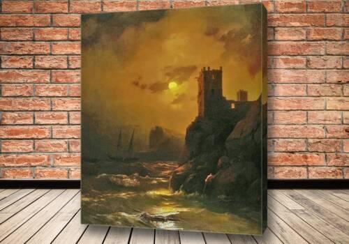 Картина Башня. Кораблекрушение 1847