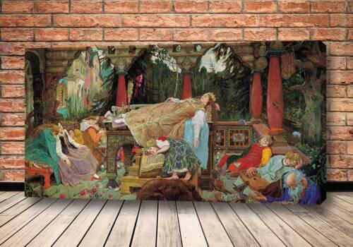 Картина Спящая царевна 1900-1926 Васнецова