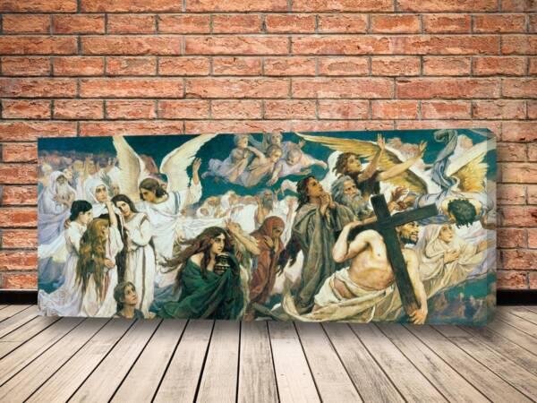 Картина Радость праведных о Господе Васнецов Виктор