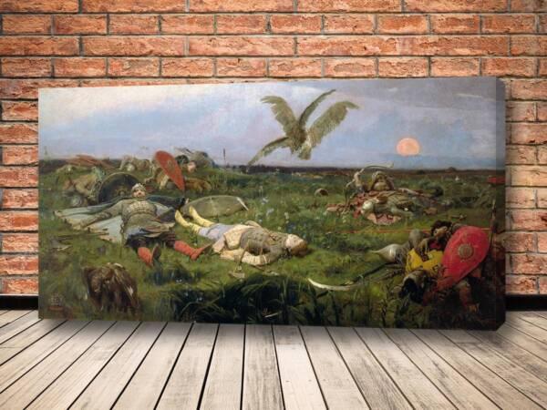 Картина После побоища Игоря Святославича с половцами