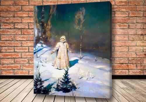 Картина снегурочка Васнецова