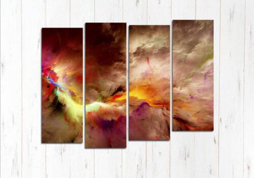 Модульная картина Буйство небесное