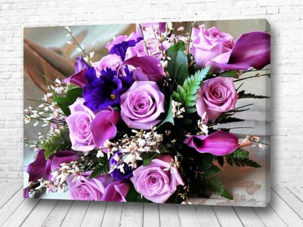 Постер Фиолетовый букет
