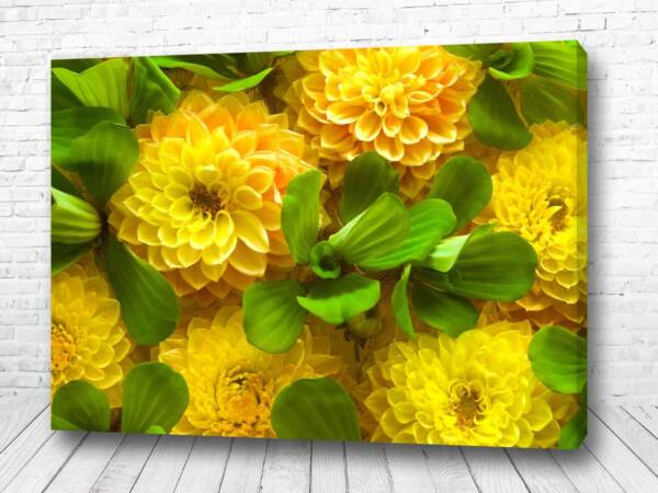 Постер Желтый букет