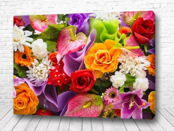 Постер Цветочный микс