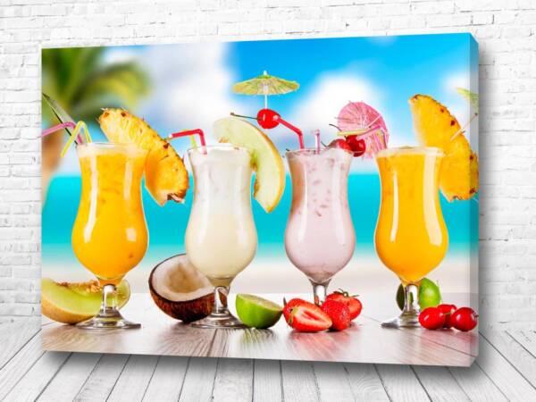 Постер Пляжный коктейль