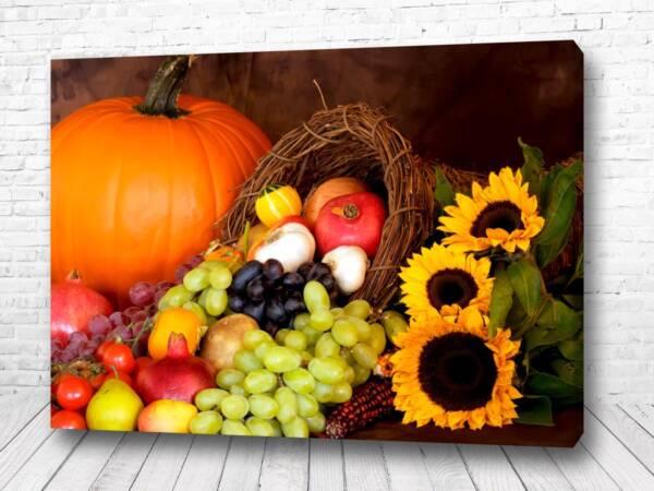 Постер Осень на столе