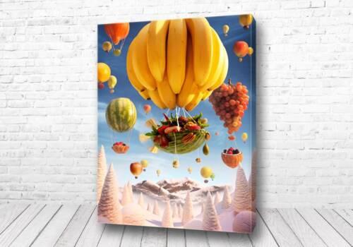 Постер Летучие фрукты