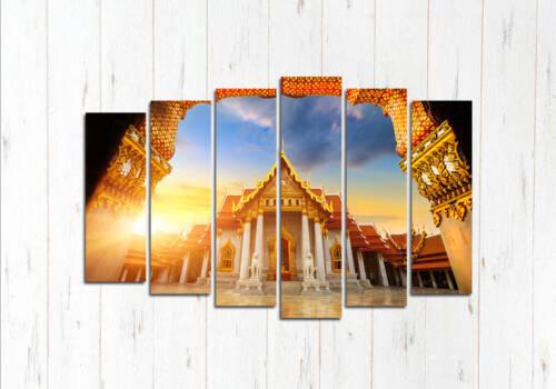 Модульная картина Дорога из храма
