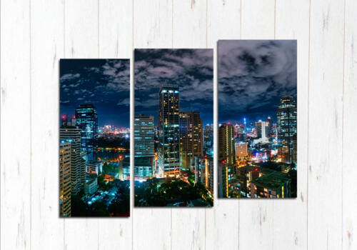 Модульная картина Таинственный Бангкок