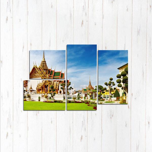 Бангкок модульные картины