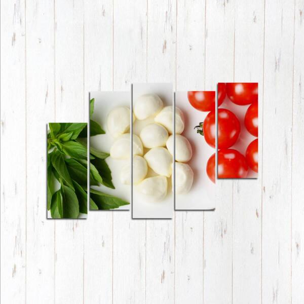 Модульная картина Свежие овощи Италии