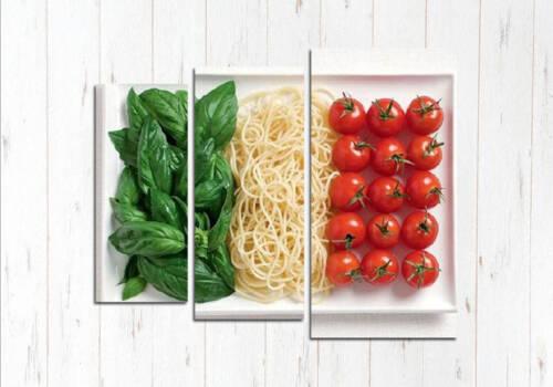 Модульная картина вкусная Италия