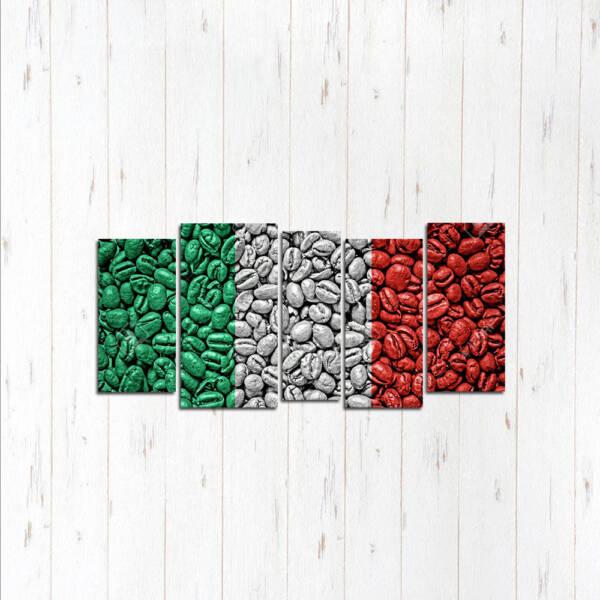 Модульная картина Зёрна флаг