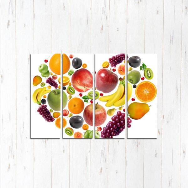фруктовое сердце