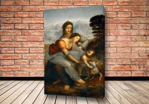 Картина Мадонна с Младенцем и святой Анной